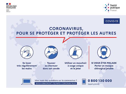Appelez gratuitement la plateforme gouvernementale pour obtenir des informations sur le coronavirus