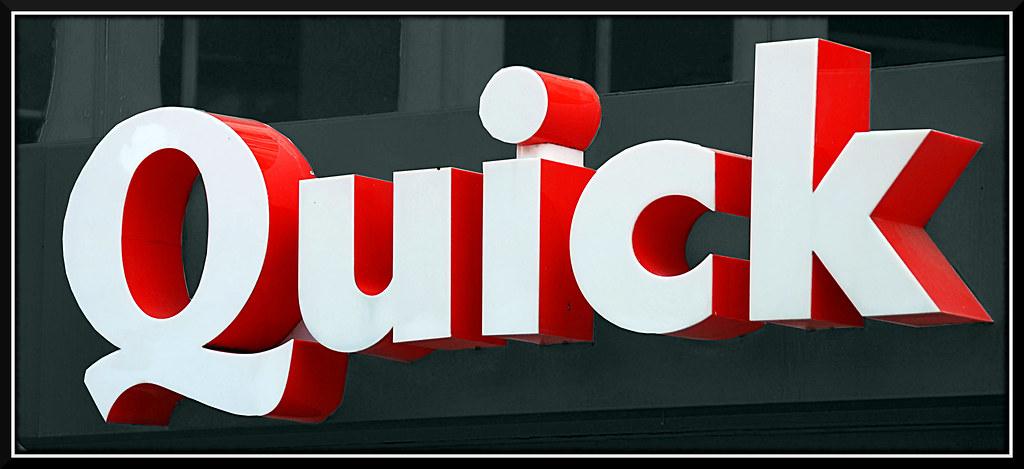 Souhaitez-vous mangez ou commander chez Quick ?